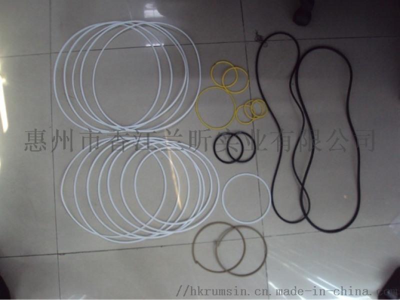 深圳惠州SIL矽橡膠O型密封防水圈矽膠MVQO型環