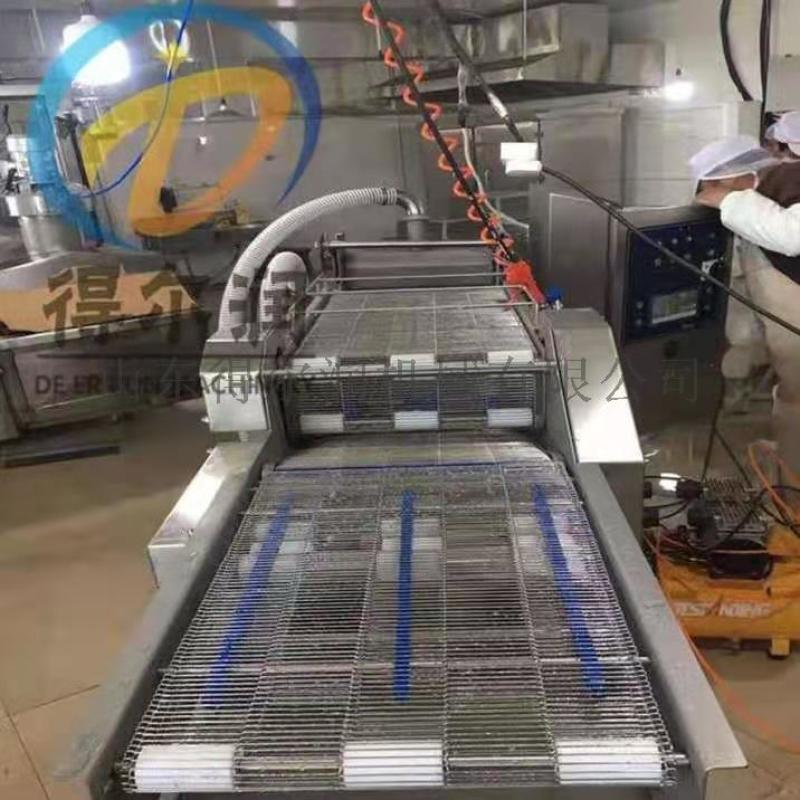 自動裹糠設備 食品裹麪包屑雪花片機器