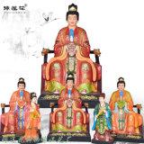 三家奶奶神像塑像 送子奶奶神像 九龙圣母佛像