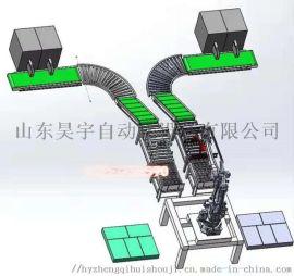 能工业机器人码垛机流水线缠绕机为全力助力企业复工做好准备