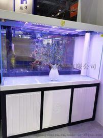 十堰魚缸廠家名亨生態水族箱定制家居玻璃魚缸批發