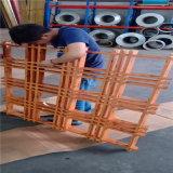 粉末型材鋁格柵網格 0.4厚網格吊頂鋁格柵