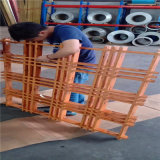 粉末型材铝格栅网格 0.4厚网格吊顶铝格栅