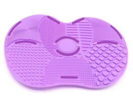 硅胶垫化妆刷清洗垫可水洗带吸盘清洁垫