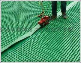 邵通凹凸排滤水板搭接方法//文山屋顶排水板可用范围