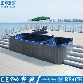 廈門一體式泳池浴缸-別墅無邊際泳池-節能安全泳池
