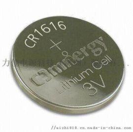 锂锰纽扣电池CR1616遥控器电子产品