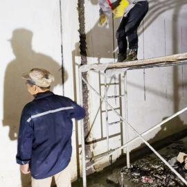 孝感市新建水池止水带破损防水补漏施工