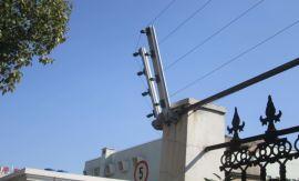 无锡小区电子围栏厂家安装 四六线脉冲电子围栏