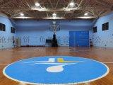 健身房室內籃球館  實木運動木地板