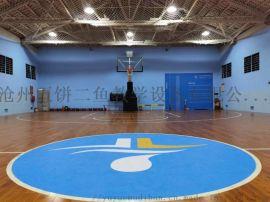 健身房室内篮球馆专用实木运动木地板
