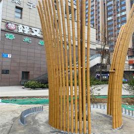 尚都门头格栅铝方管 都市桃源型材铝方管格栅