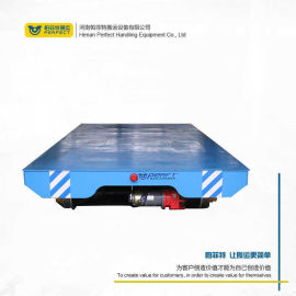 定制非标冶金使用平板车 蓄电池轨道车 无线遥控操控