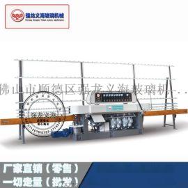 强龙义海玻璃机械磨边机QLZ-4325直边机