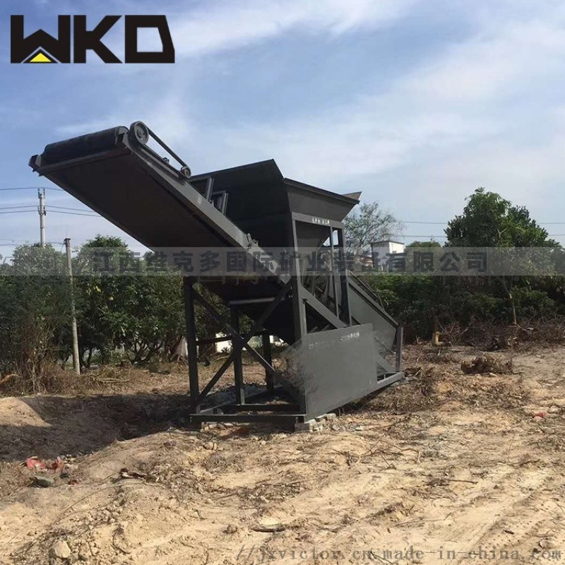 供应大型滚筒筛沙机 可移动式砂石分选机设备
