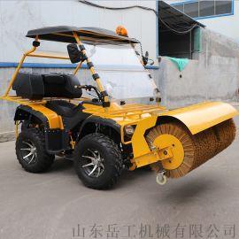 手扶式掃雪機 清雪設備廠家 園林掃雪機