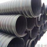 湖南漢壽鋼帶管擴口承插鋼帶管材質聚乙烯現貨