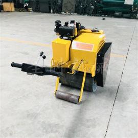 柴油振动手扶座驾压实机报价 全新小型单双轮压路机