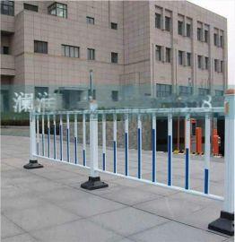 林业监测站围栏塑钢箱变PVC护栏 红色插条塑料围挡带门批发送立柱