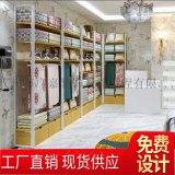 家紡展示架展櫃 枕頭被子牀上用品飾品店貨架展示架
