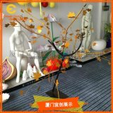 模擬金屬樹枝製作  商場擺放  活動展覽展示