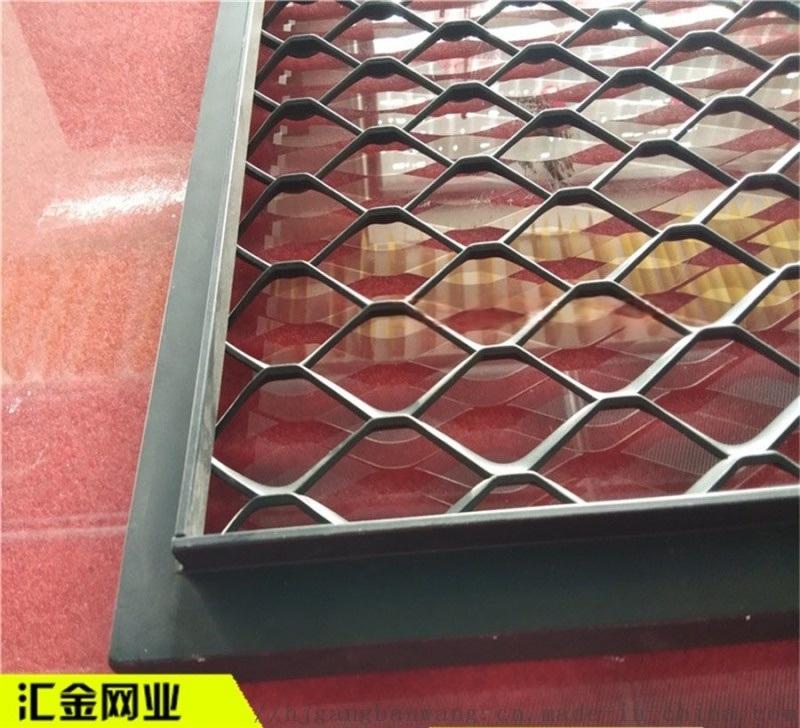 加工定制铝板网 铝板网吸音墙 拉伸铝板网幕墙
