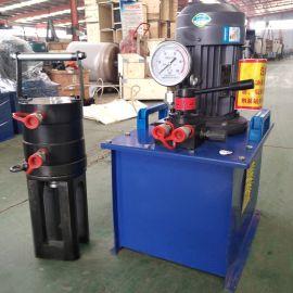 钢筋连接套筒冷挤压机 电动液压式钢筋冷挤压机