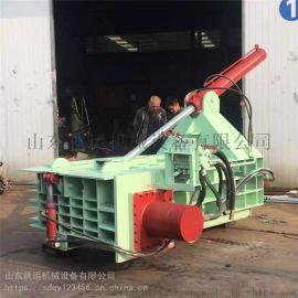 废有色金属液压打包机 大型液压压块机