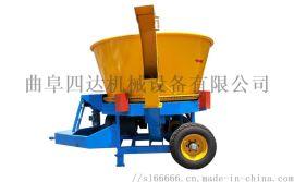 草捆揉丝粉碎机 圆形大草捆粉碎机 成捆稻草粉碎机