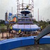 度假區造型藍色鋁單板 水上樂園藝術鋁單板定製
