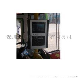 无线公交刷卡机 防油污会报站公交刷卡机