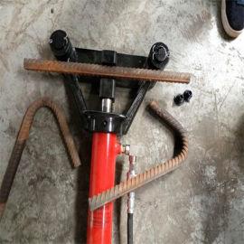 河南焦作小型液压手提式钢筋弯曲机报价-