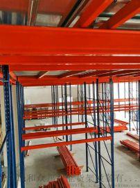 重型货架仓储仓库多层**组合阁楼货架二层隔层钢架