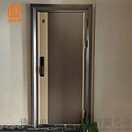 廣東門厂直供爱林堡韩式不鏽鋼进户防盜門門中門