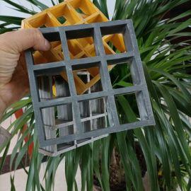 玻璃钢网格栅板稳定性好 用于树坑洗车房化工厂