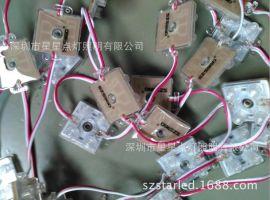 厂家批发LED模组|四灯PC|带透镜|防水发光字广告|招牌灯源