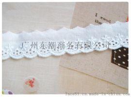cotton lace棉布花边