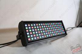 厂家直销108颗3WLED防水投光灯 LED天地排灯 LED洗墙染色灯