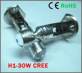 厂家直销LED新款雾灯H1/H3-30W CREE XBD 高亮度