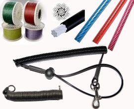 镀锌涂塑钢丝绳