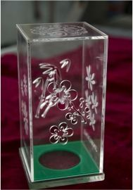 透明酒盒 亚克力盒子 七彩云有机玻璃制品 有机玻璃盒子