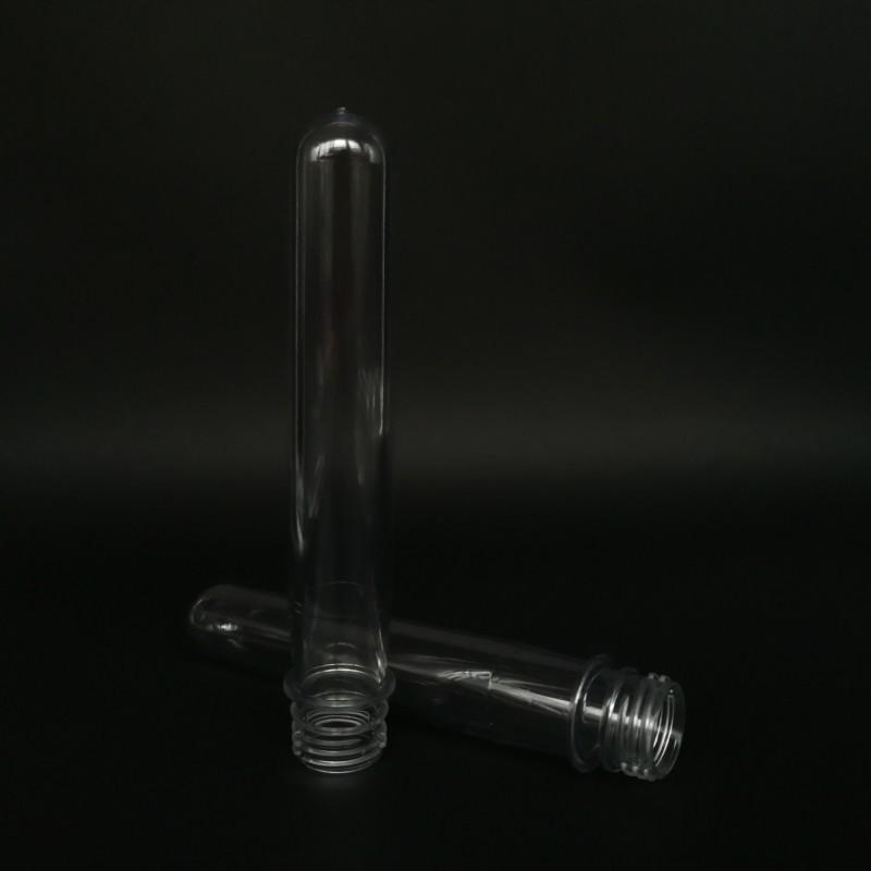 厂家直销 28高口65克瓶胚 食品级塑料瓶胚 PET管坯 来图来样定制