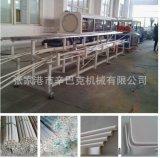 PVC一出二电线穿线管挤出生产线设备,一出四电工套管机器配方