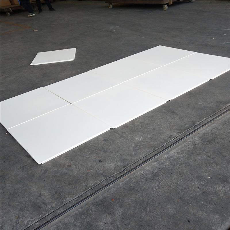 展覽廳室內隔斷鋁吊頂 造型圖案鋁天花,鋁通條形吊頂