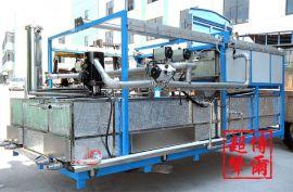 浙江POWER龙门单臂式超声波清洗钝化生产线