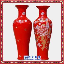 景德镇青花陶瓷大花瓶,彩绘陶瓷大花瓶