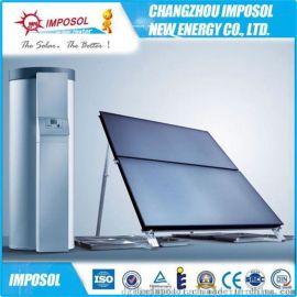 厂家直销经济环保高层太阳能供热工程用平板太阳能热水器