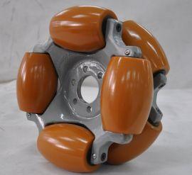 254mm 全轴承 重载工业级 90度全向轮 成都航发 移动平台用轮子  自动导引搬运车