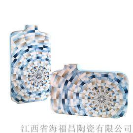 陶瓷花瓶摆件,陶瓷工艺品,景德镇陶瓷礼品