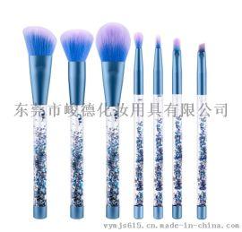 全套配件逗号洗脸化妆刷厂商直销化妆木制品加工厂